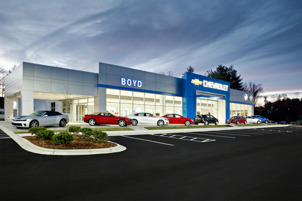 Boyd Chevrolet Cooper Construction Company