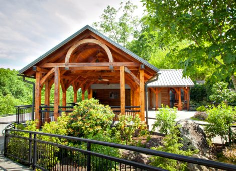 North Carolina Arboretum Bonsai House