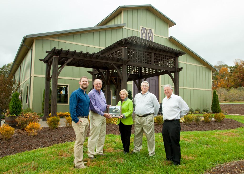 Cooper Construction, Burntshirt Vineyards Award