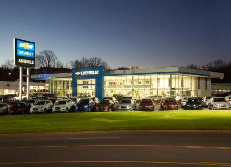 Asheville Chevrolet, Cooper Construction Company