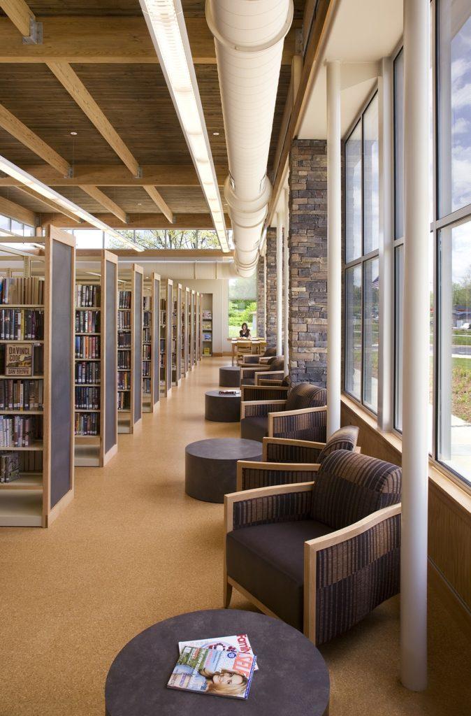 Etowah Library, Construction, Hendersonville NC
