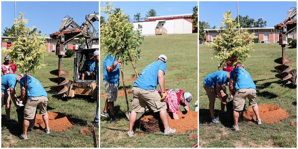 Cooper Construction Company, Henderson County United Way Day Of Caring