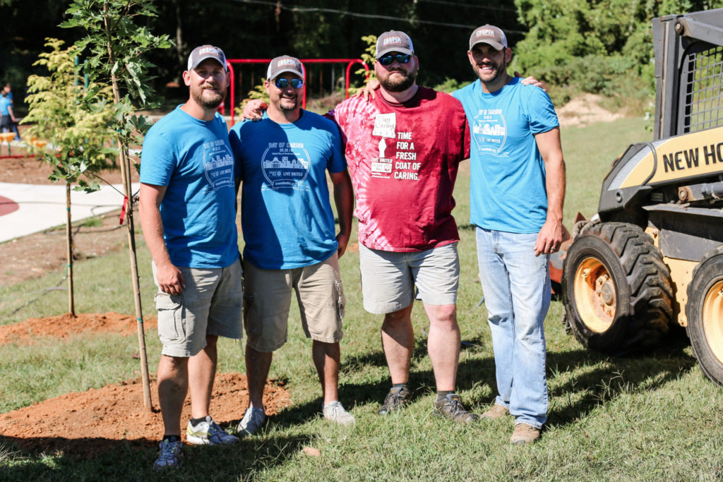 Cooper Construction Company, Henderson County Day of Caring