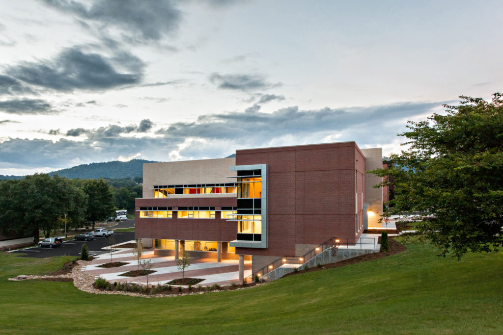 Mars Hill, Ferguson Health Sciences Building, Hendersonville NC, General Contractor, Construction Company
