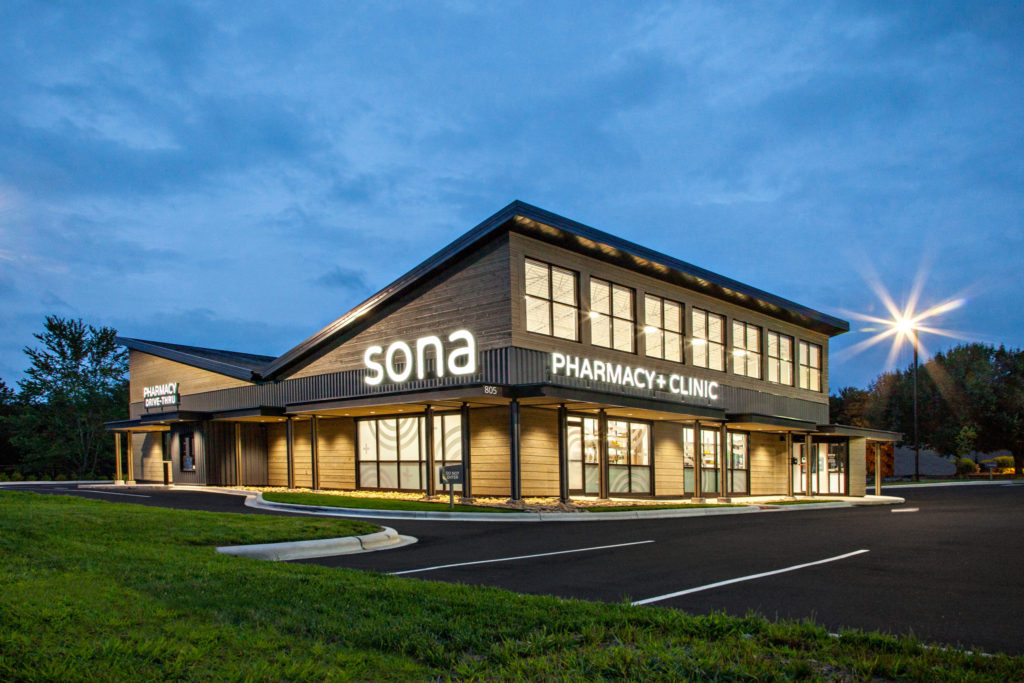 SONA Pharmacy & Clinic, Asheville NC General Contractor, Construction