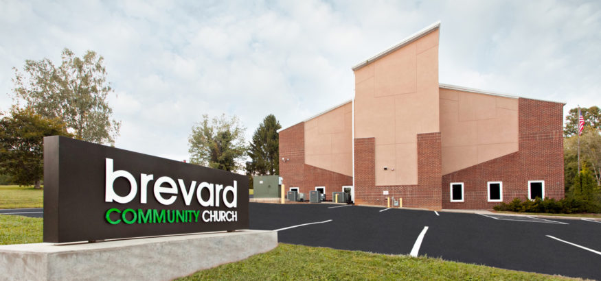 Brevard Community Church, Brevard NC, Hendersonville General Contractor, Construction Companies in Hendersonville