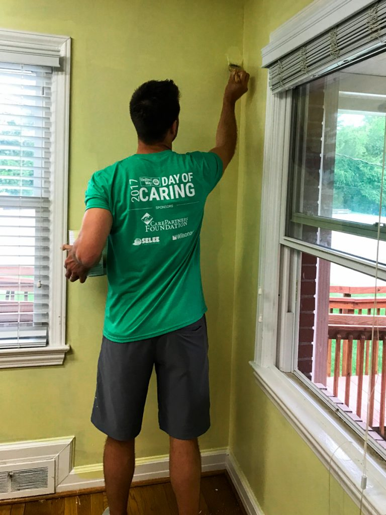 Hendersonville Day Of Caring, Cooper Construction Company