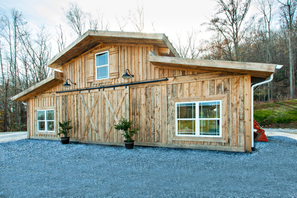 Top General Contractor Cooper Construction, Builder for Stone Ashe Vineyards outside of Hendersonville, NC