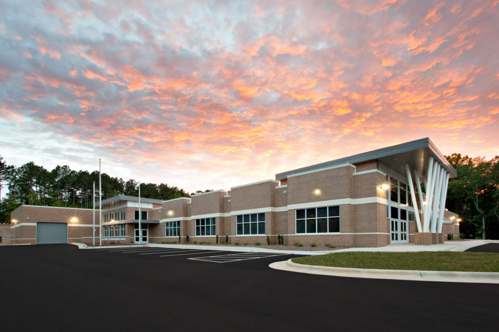 Polk County Jail by Cooper Construction Company