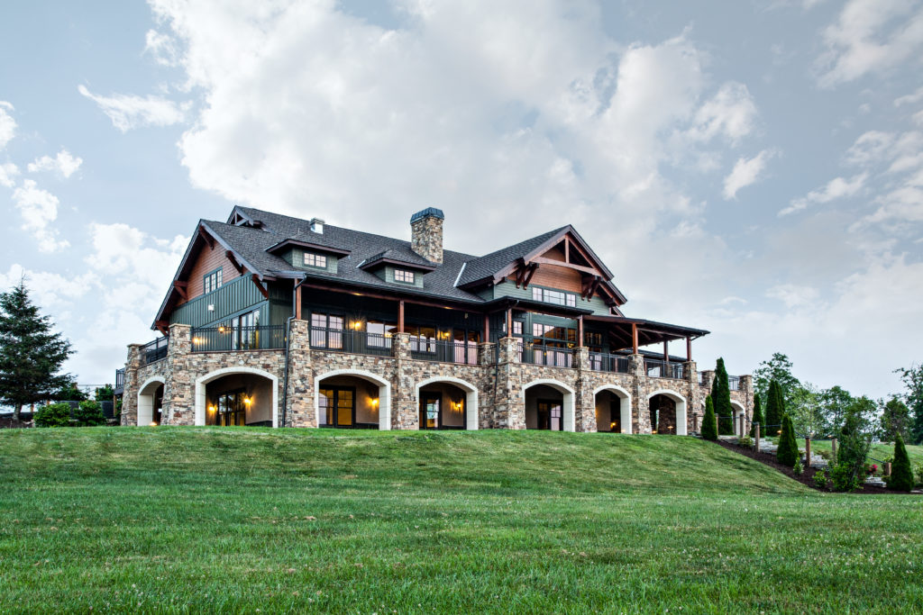 Grand Highlands Clubhouse by Cooper Construction Company
