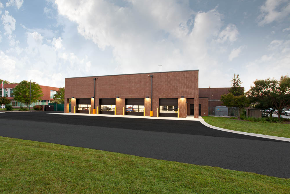 Cooper Construction Spearman Building Blue Ridge Community College